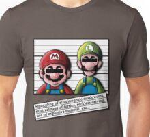 Mario Wanted Unisex T-Shirt