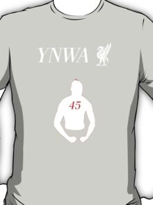 Super Mario will never walk alone. YNWA! T-Shirt
