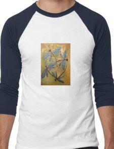 Dragonfly Haze Men's Baseball ¾ T-Shirt