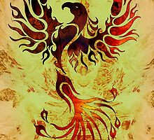 Powerful Phoenix by Robert Ball