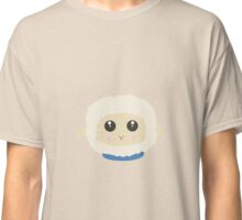 Cute little sheep with blue collar Classic T-Shirt