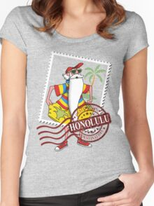 Honolulu Destination Women's Fitted Scoop T-Shirt