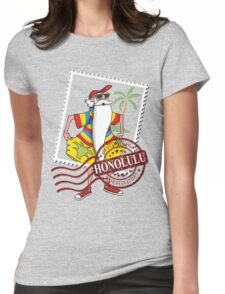 Honolulu Destination Womens Fitted T-Shirt