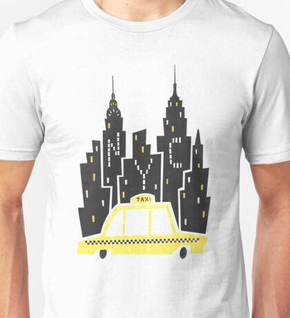 NYC Taxi Unisex T-Shirt