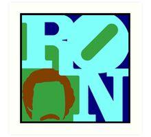 Ron Love (b) (Anchorman) Art Print