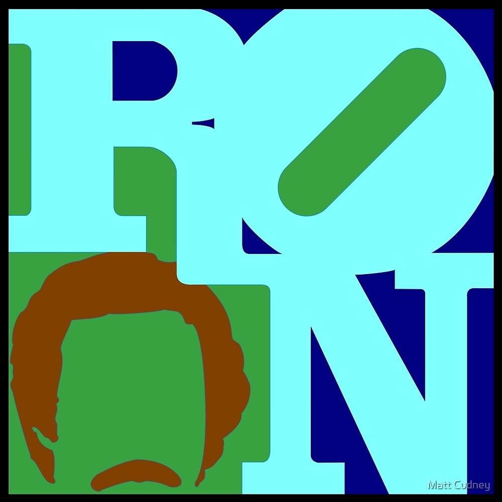 Ron Love (b) (Anchorman) by cudatron