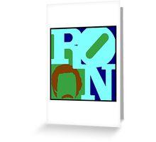 Ron Love (b) (Anchorman) Greeting Card