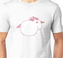 Cute Chubby Unicorn Unisex T-Shirt
