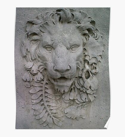 Viennese lion Poster