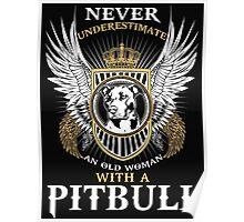 Pit bull shirt Poster