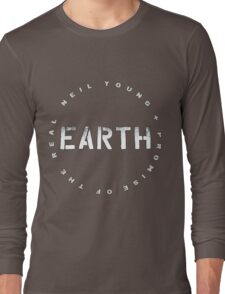 ADS2 Neil Young Earth REBEL CONTENT Tour 2016 Long Sleeve T-Shirt