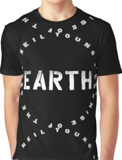 ADS2 Neil Young Earth REBEL CONTENT Tour 2016 Graphic T-Shirt