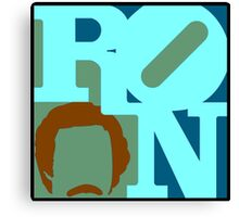 Ron Love (c) (Anchorman) Canvas Print