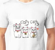 Maneki-neko, the bringers of fortune Unisex T-Shirt