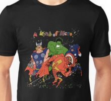 A kind of heroes. Unisex T-Shirt