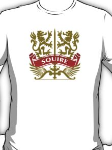 Fit For A Squire Coat-of-Arms T-Shirt