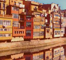 City of Girona in Spain Sticker