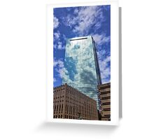 Blue Reflections Greeting Card