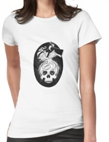 The Necromancer Womens Fitted T-Shirt