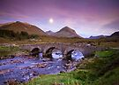 Isle of Skye Moonrise by Angie Latham