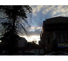 Street Sunset Photographic Print