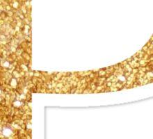 p /// rho gold Sticker