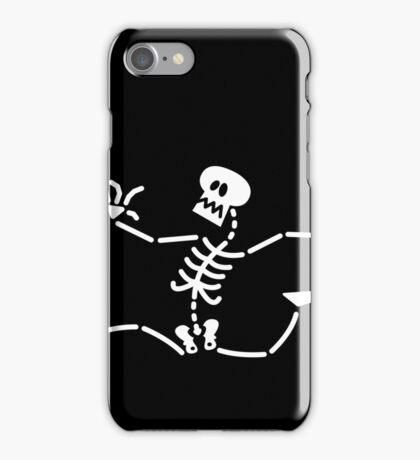 Skeleton Running Away iPhone Case/Skin