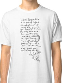 Being Boring - Pet Shop Boys Classic T-Shirt