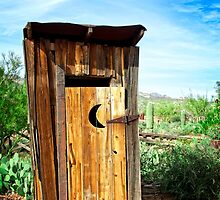A Trip To The Outhouse by Lee Craig