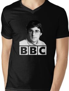 Louis Theroux 90s Young Mens V-Neck T-Shirt