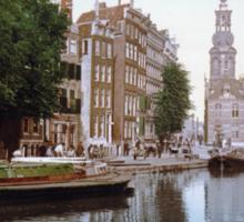 Vintage Amsterdam Photo-Picture Sticker
