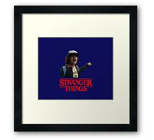Dustin Stranger Things Framed Print