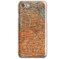 Vintage Map of Annecy France (1914) iPhone Case/Skin