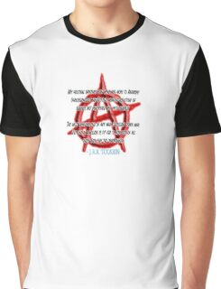 ANARCHY, Anarchist, J. R. R. Tolkien, My political opinions lean more and more to Anarchy Graphic T-Shirt