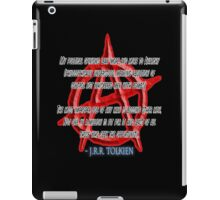 ANARCHY, Anarchist, J. R. R. Tolkien, My political opinions lean more and more to Anarchy iPad Case/Skin