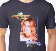 Olivia Newton-John - 70's -Long Live Love Unisex T-Shirt