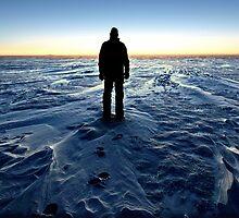 Antarctic Sunset by BravuraMedia