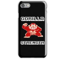 Gorilla strength iPhone Case/Skin