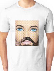 Pop Art Man - Those Blue Eyes Though! Unisex T-Shirt