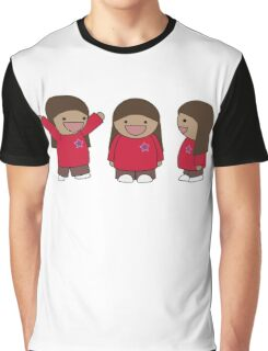 Really Happy Girl Graphic T-Shirt