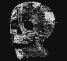 Skull Wanderlust One Piece - Long Sleeve