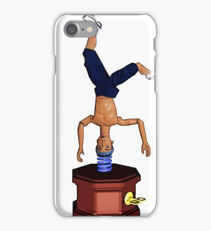 Breakdancing Music Box! iPhone Case/Skin