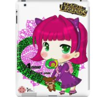 Chibi Annie eating candy iPad Case/Skin