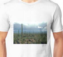 Arizona Desert and Cactuses  Unisex T-Shirt