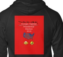 """""""The New World Order Stronger Together"""" Zipped Hoodie"""
