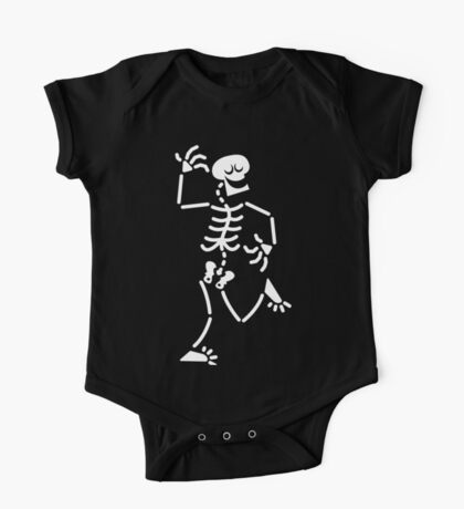 Dancing Skeleton One Piece - Short Sleeve