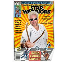 Star Warriors/Guy Fieri Poster