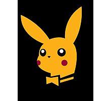 playboy pikachu Photographic Print