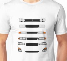 Evolution of Nissan Skyline GTR Unisex T-Shirt