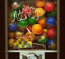 Gumball Machine Series - with Graffiti Burst - Iconic New York City by Miriam Danar